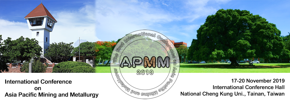 2019 1st Asian Pacific Mining and Metallurgy Conference